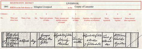 Liverpool Births And Deaths Records Hertfordshire Genealogy