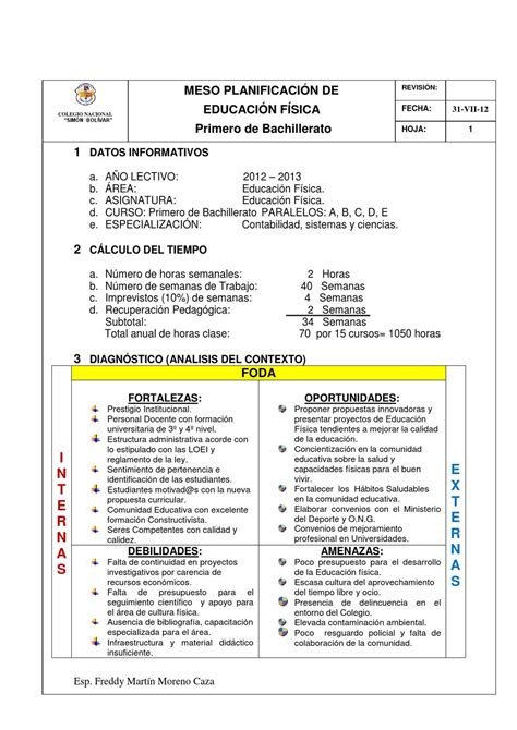 planificaciones de primaria 2016 pdf planificaci 243 n curricular de educaci 243 n f 237 sica 2012 2013 by