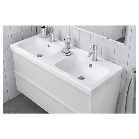 ikea double sink odensvik double wash basin 120x49x6 cm ikea