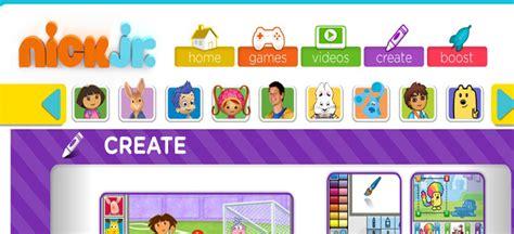 nick jr coloring games gamesworld nick jr creativity center best kids websites