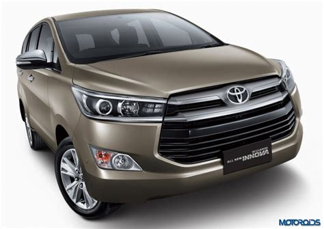 Innova Grand All New 2016 Reborn Outer Chrome auto expo 2016 innova crysta is the official name for the new innova in india motoroids
