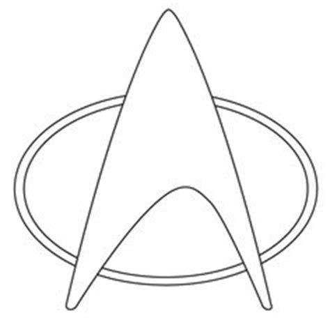 printable star trek badge star trek coloring page sheets free printable tv and