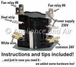 electric furnace sequencer replacement instructions  home repair
