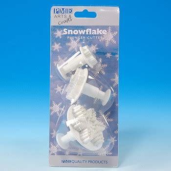 Plunger Cutter Snowflake snowflake plunger cutter set