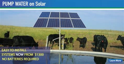 livestock well solar panel cost the solar store home page the solar store