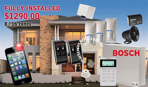 bosch home alarm systems smarter security melbourne
