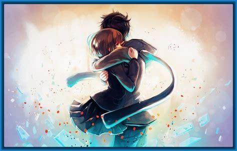 imagenes anime gratis descargar imagen anime kiss fondo de pantallas beso amor