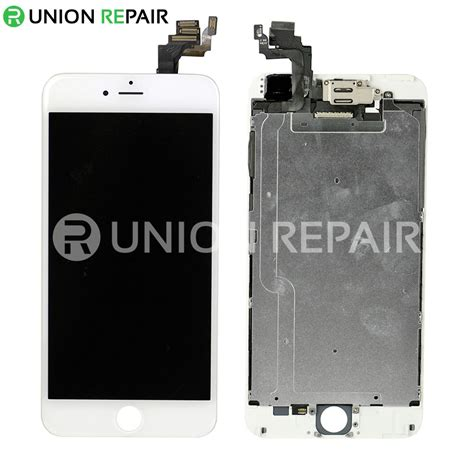 replacement  iphone   lcd screen full assembly  home button white