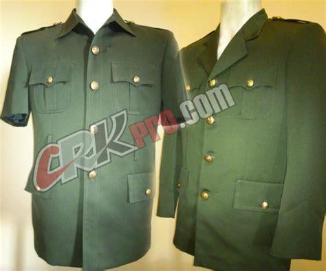 Seragam Army Seragam Pdu Baju Pakaian Dinas Upacara Uniforms Militer