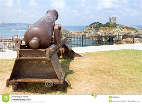 ottoman cannon ottoman cannon royalty free stock image image 26909436