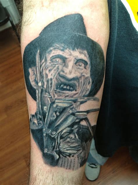 freddy krueger tattoo tattoos by wojo freddy krueger