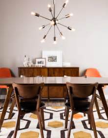 how to get the mid century modern aesthetic in your dining