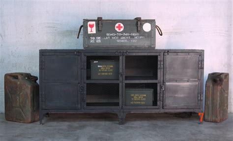 Industrial Furniture   Industrial metal sideboard   BARAK'7