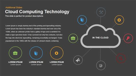 cloud powerpoint template cloud computing technology powerpoint and keynote slides