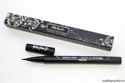 kat von d tattoo liner tightline j adore le maquillage kat von d maquillage cynthia