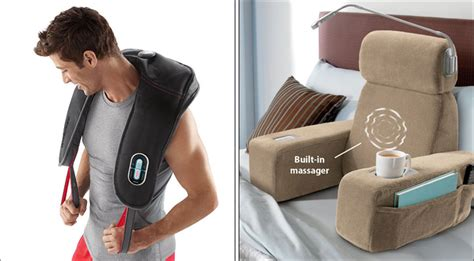 massaging bed rest weird gadgets you might actually want to buy