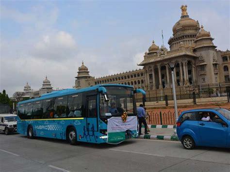 bangalore receives fleet  hybrid volvo buses drivespark news