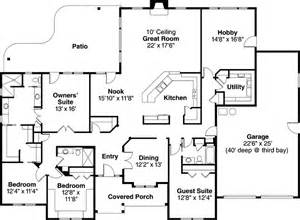 Ranch Style House Plans With Bedrooms Bedroom Ranch Floor     bedroom ranch floor plans  ranch style house plans square foot home story bedroom