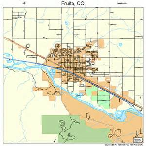 fruita colorado map 0828745