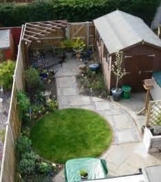 Formal Herb Garden - small garden design debbie carroll