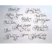 Go Back &gt Gallery For Fancy Handwriting Tattoo Fonts