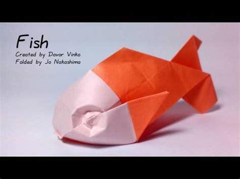 origami rose tutorial davor vinko origami fish davor vinko not a tutorial showing the