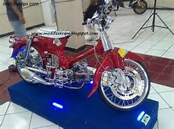 Modifikasi Motor Honda C70