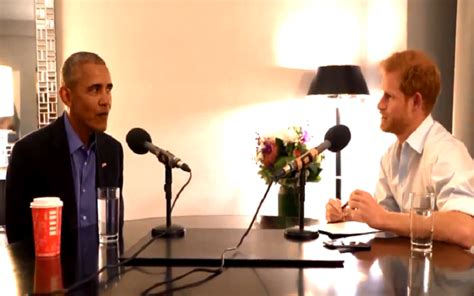 barack obama biography bbc conversation prince harry interviews barack obama for