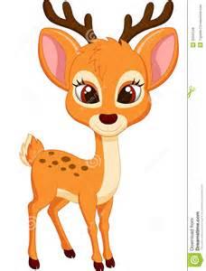 Cute deer cartoon royalty free stock photos image 33243128