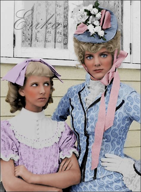 nancy from little house on the prairie nancy and nellie oleson by madamescandaleuse on deviantart