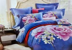 Sprei Jepang Panel Motif Bunga mawar - Bed cover sprei lovina