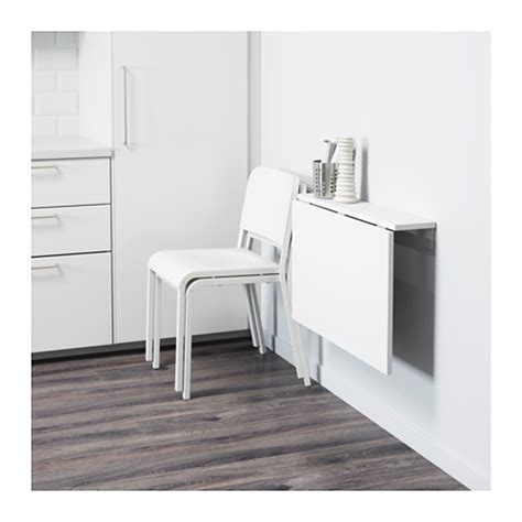 Leaf Dining Room Table by Norberg Wall Mounted Drop Leaf Table White 74x60 Cm Ikea