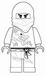 Printable Coloring Pages: Lego Ninjago Coloring Pages