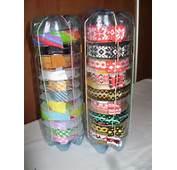 Plastic Bottle Crafts Ribbon Dispenser