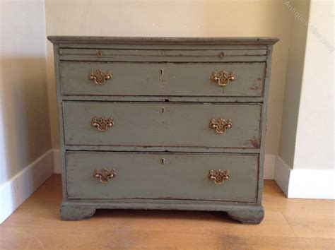 Green Chest Of Drawers by Georgian Green Chest Of Drawers Antiques Atlas