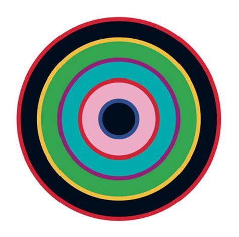 green wallpaper target target 1 sticker blue green black by domestic