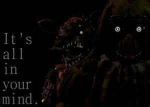 It s all in your mind fnaf 3 by dragonflame6 on deviantart