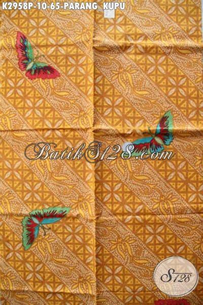 Parang Kupu batik kan parang kupu batik kain buatan nan istimewa