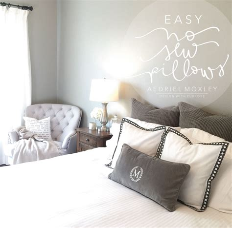 Easy Sew Pillows by Easy No Sew Pillows Diy How To 187 Aedriel At Home