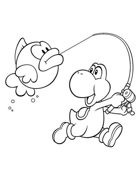 coloring pages yoshi yoshi coloring pages to and print for free