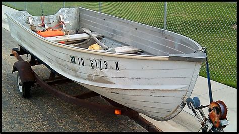 14 ft aluminum jon boat weight boat restoration project quot before quot youtube