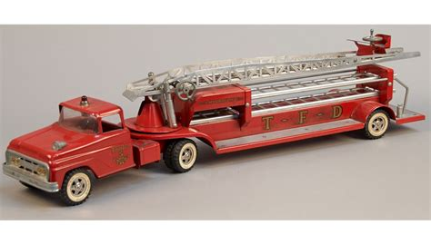 vintage tonka fire truck tonka fire department aerial ladder truck vintage