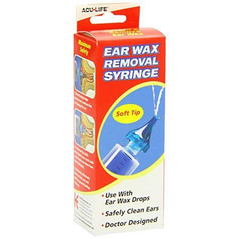 earwax removal syringe acu