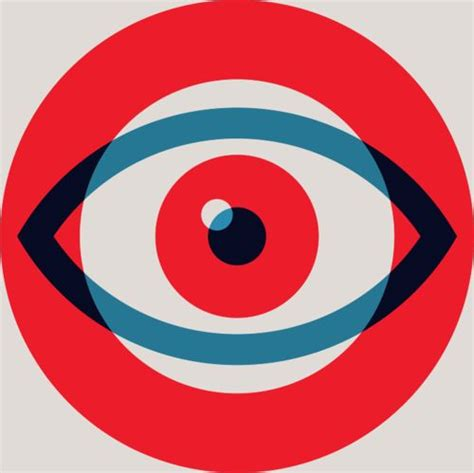 typography eye alan peters for target illustrations