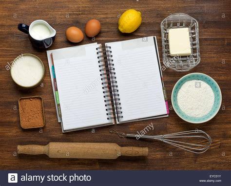 baking cake in rural kitchen dough recipe ingredients