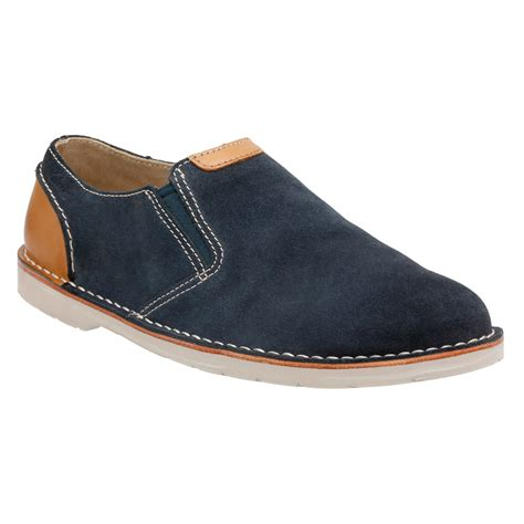 clarks suede loafers clarks s shoes hinton easy slip on loafers sand blue