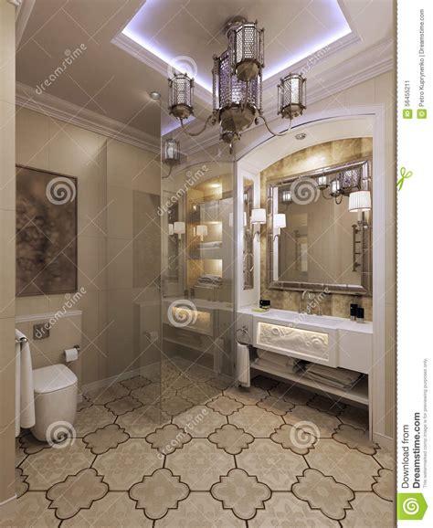 arabic bathroom designs arabic bathroom moroccan style stock illustration