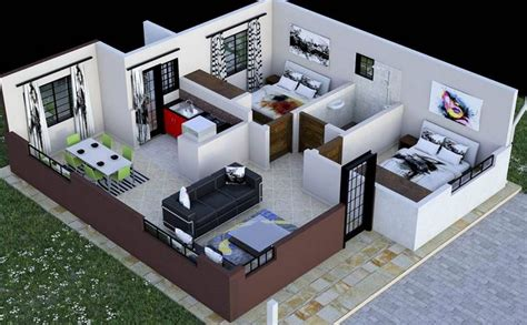 2 bedroom house plan 2 bedroom house plan in kenya with floor plans amazing design muthurwa marketplace