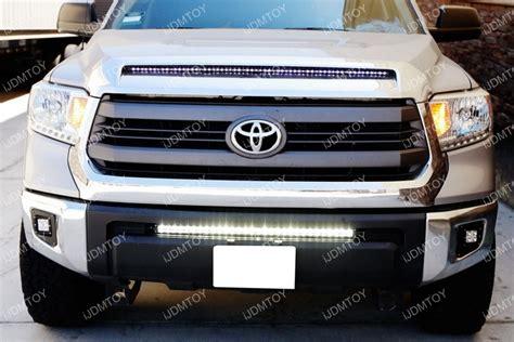 install led lights how to install toyota tundra led light bar system