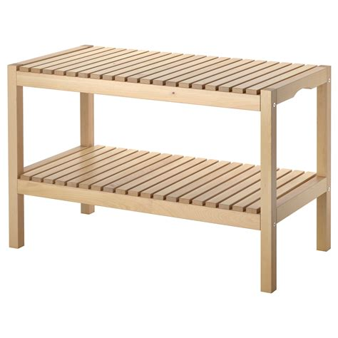 molger bench birch ikea